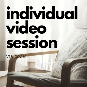 individual drama therapy session via video call