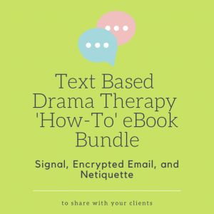text based drama therapy how to ebook bundle